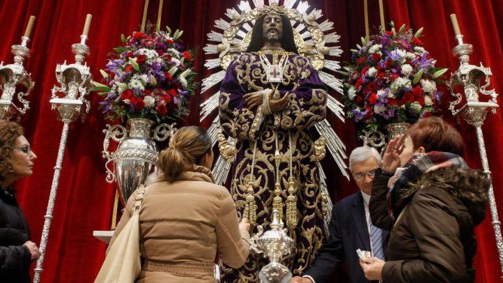 El Cristo de Medinaceli, rescatado, llega a Madrid