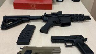 Requisadas varias pistolas 'airsoft' en Alcorcón