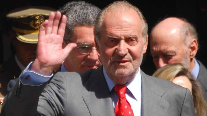 El rey emérito, Juan Carlos I.