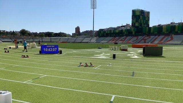 Una novedad: será el primer estadio con las pistas pintadas de verde.