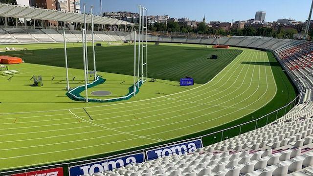 El Estadio de Vallehermoso vuelve a brillar con las estrellas del atletismo español