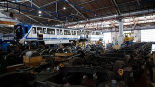 Un empleado de Metro encontró una pieza con amianto en uno de los talleres centrales de la empresa.