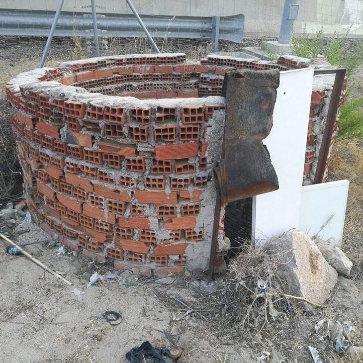 Localizan en Getafe un pozo abandonado y sin tapar