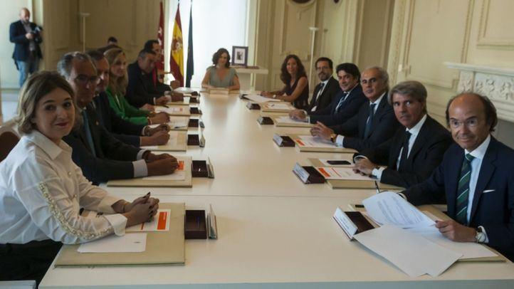 Primer Consejo de la Comunidad de Madrid.