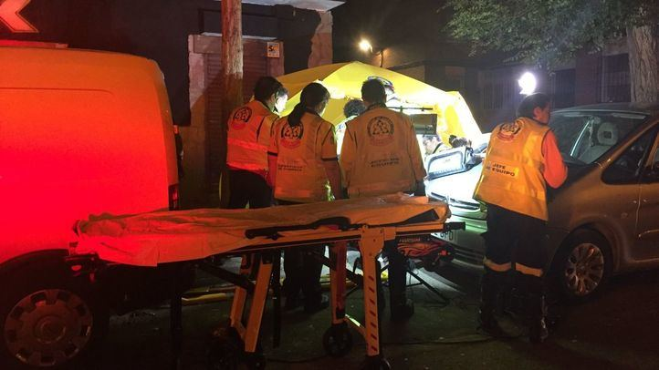 Detenidos dos hombres por apuñalar a otros dos en Villaverde