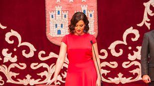 Isabel Díaz Ayuso, en su toma de posesión como presidenta de la Comunidad de Madrid