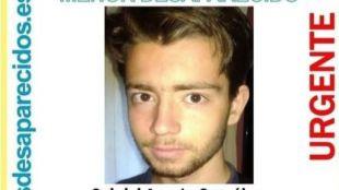 Desaparecido un joven de 16 años en Madrid