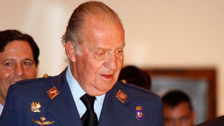 El rey Juan Carlos, con uniforme del ejército del Aire.