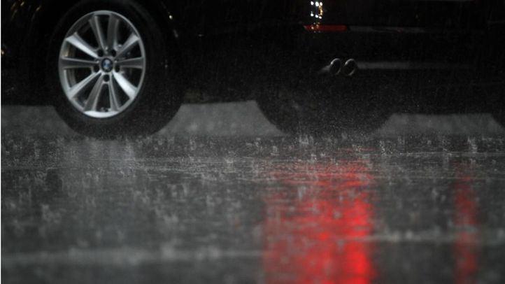 Cortadas por inundación tras la tormenta la M-506, la M-40, la A-42 y varias líneas de Metro