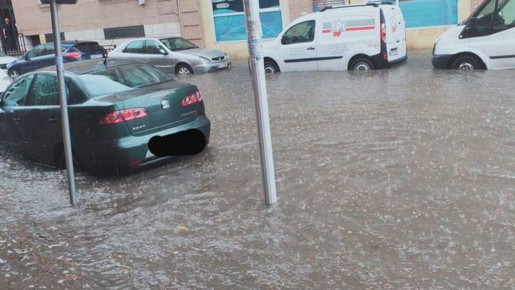 Riadas en Arganda, Valdemoro y Getafe: las tormentas arrasan el sur y este de la Comunidad de Madrid