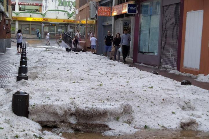 Después de la tempestad, la calma llega a Arganda: sus calles van recuperando la normalidad