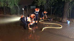 Getafe, Leganés y Valdemoro: otros municipios afectados por la tormenta