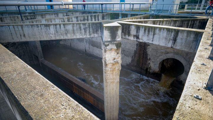Depuradora de aguas residuales Arroyo Culebro del Canal de Isabel II.