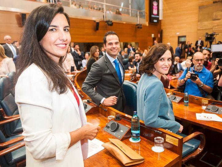 VOX asoma la 'patita' en las nuevas viceconsejerías de la Comunidad de Madrid