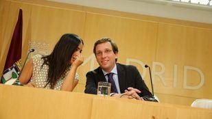 Begoña Villacís, vicealcaldesa; y José Luis Martínez-Almeida, alcalde.