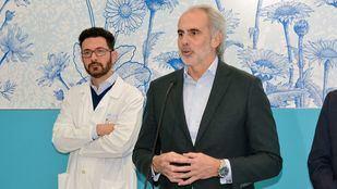 El consejero de Sanidad, Enrique Ruiz Escudero, en una imagen de archivo.