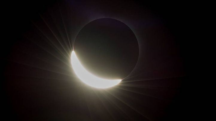Un eclipse 'de montaje' para asombrar a los habitantes de Madrid