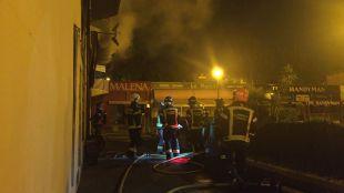 Arde un local de hostelería en Hortaleza