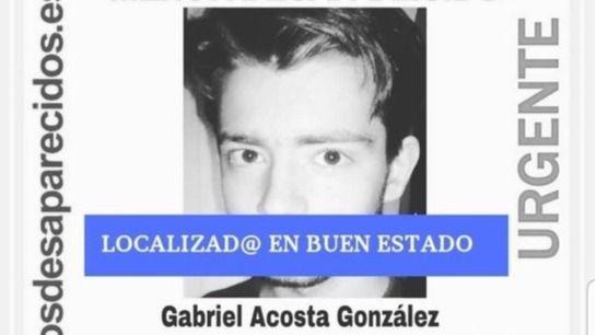 Localizado el menor desaparecido hace 10 días en Madrid