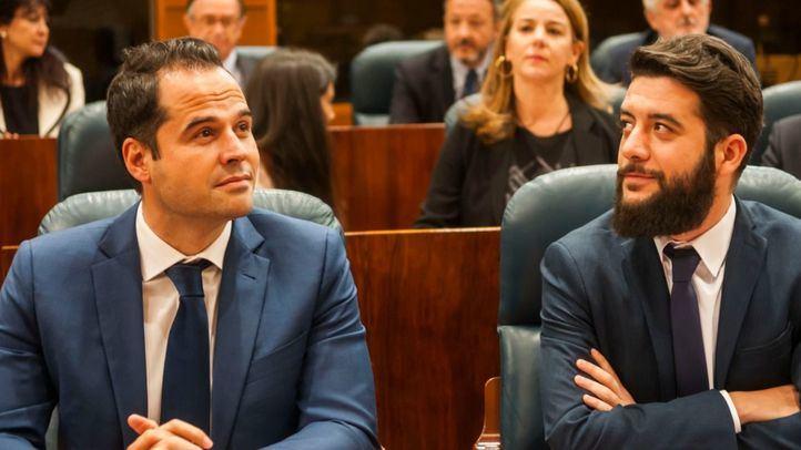 Ignacio Aguado y César Zafra