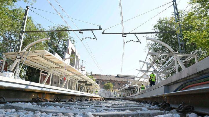 Reanudada la circulación entre Atocha y Delicias tras el fin de las obras de Méndez Álvaro