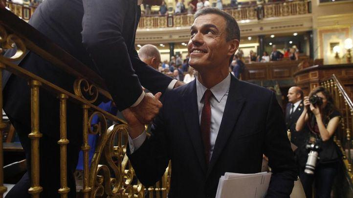 El presidente del Gobierno en funciones y candidato socialista a la reelección, Pedro Sánchez.