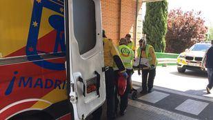 El joven herido fue trasladado en estado grave al Hospital 12 de Octubre de Madrid.