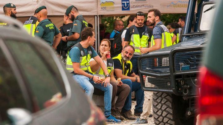 Operativo de búsqueda de Blanca Fernández Ochoa en Las Dehesas, Cercedilla.
