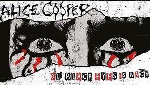 Cartel del concierto de Alice Cooper.