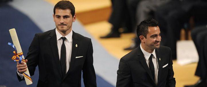 Iker Casillas y Xavi Hernández, Premio Príncipe de Asturias de los Deportes
