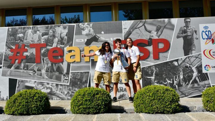 España, campeona de flag fútbol femenino en el Campeonato de Europa