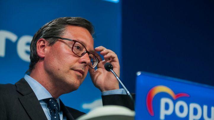 Alfonso Serrano, portavoz del PP en la Asamblea de Madrid