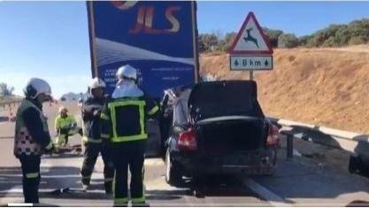 Accidente mortal en Buitrago del Lozoya.