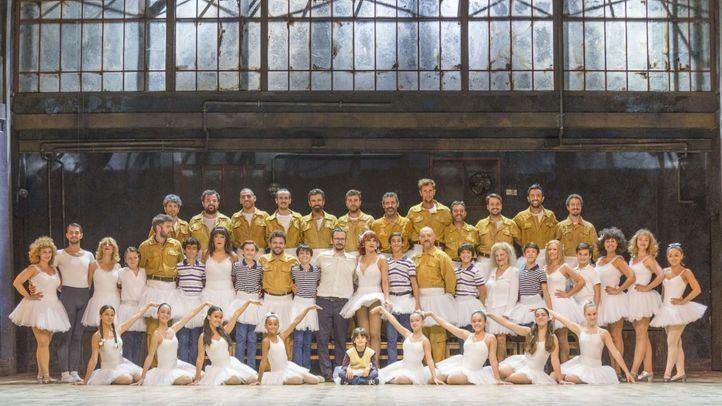 La compañía de Billy Elliot al completo.