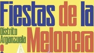 Cartel de las Fiestas de la Melonera.