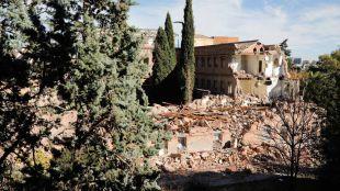 Los 500 árboles del convento de las Damas Apostólicas, otra vez en peligro
