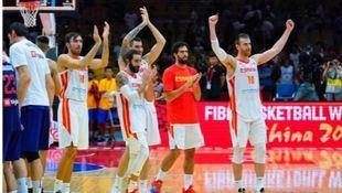 España vence a Serbia en el Mundial de China