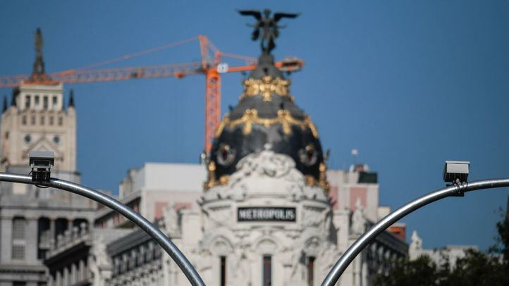 Cámaras de Madrid Central.