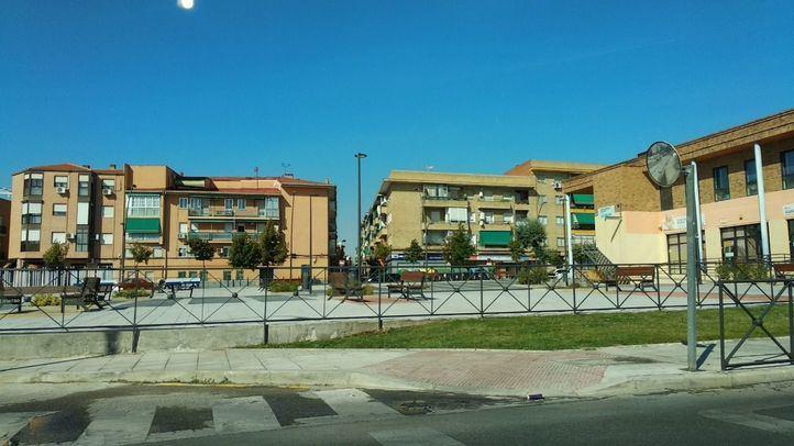 Plaza Vergara del barrio de la Alhóndiga de Getafe.