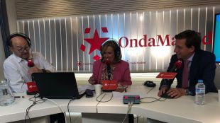 El alcalde de Madrid, José Luis Martínez-Almeida, en Onda Madrid.