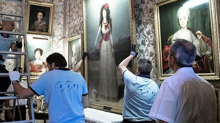 El cuadro de la duquesa de Alba regresa al Palacio de Liria.