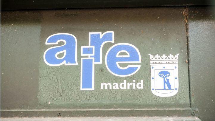 Medidor del aire del Ayuntamiento de Madrid.