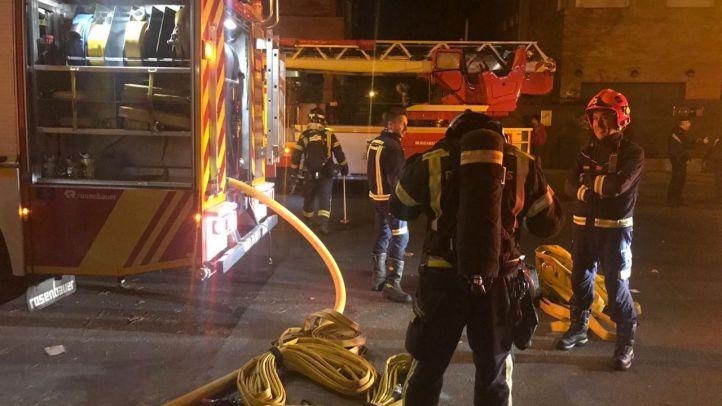 Evacuada una clínica psiquiátrica por un incendio