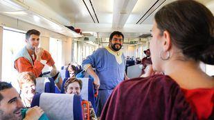 El Tren Medieval regresa a Sigüenza con malabaristas, zancudos y trovadores