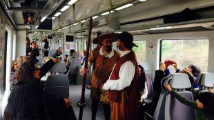 El Tren de Cervantes regresa para visitar Alcalá de Henares