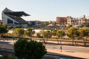 Demolición del Vicente Calderón: comienzan las obras del desvío de la M-30