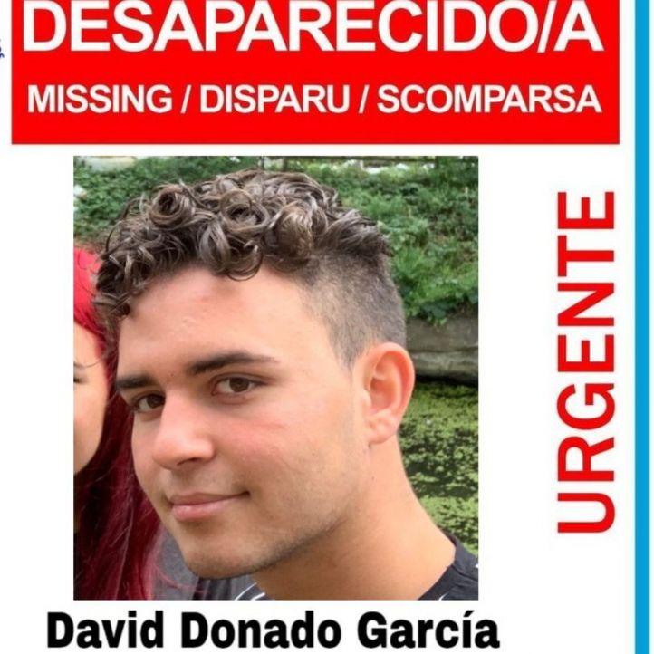 Desaparecido un joven de 19 años en Madrid