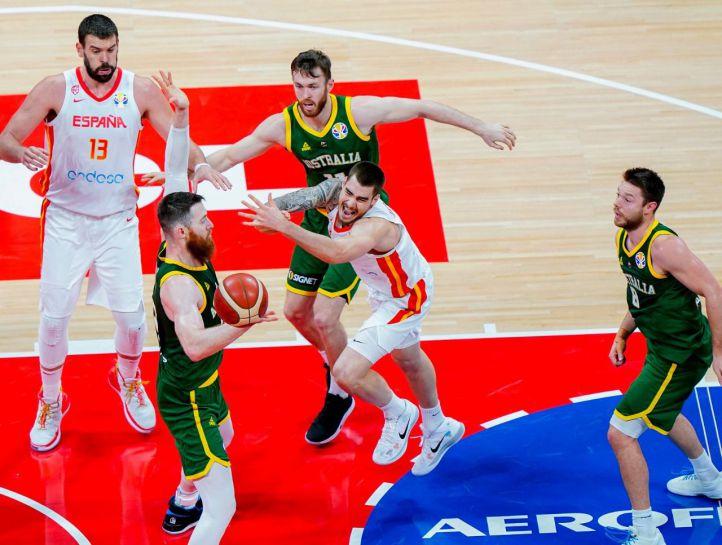 España se mete en la final del Mundial tras batir a Australia