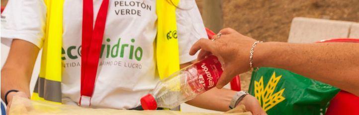 El Pelotón Verde: héroes que hacen La Vuelta más sostenible