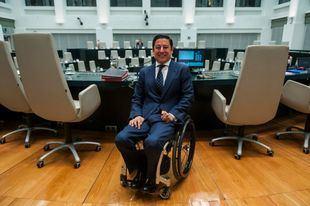 Borja Fanjul, presidente del Pleno y, ahora, segundo teniente de alcalde.